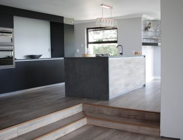 Concrete Kitchen Counter Tops, Tables and Cupboards